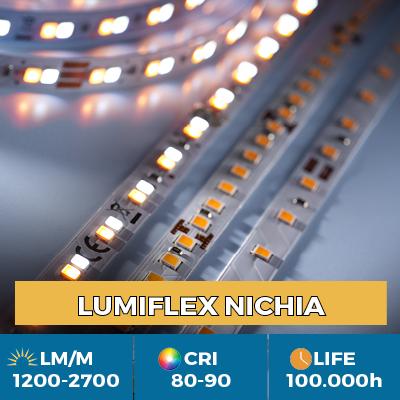 Tiras LED Nichia profesionales, hasta 2700 lm/m, 5 años de garantía