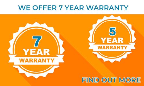 Ofrecemos hasta 7 años de garantía para nuestras tiras y módulos LED.